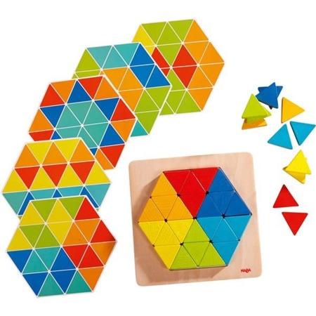 Układanka Magiczne Trójkąty - układanka logiczna, HABA