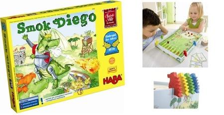 Gra - Diego Wypluwacz Ognia (Wer. PL), 5 lat+, HABA