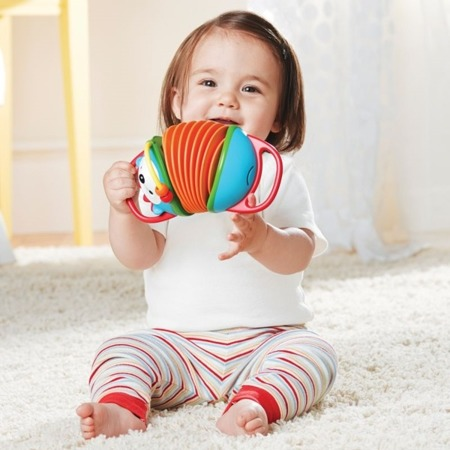 Akordeon Jeżyk - plastikowy akordeon zabawkowy dla dzieci, SKIP HOP303252