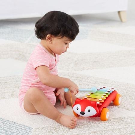 Cymbałki dla dzieci - pierwsze instrumenty, Lisek Explore & More, SKIP HOP 303109