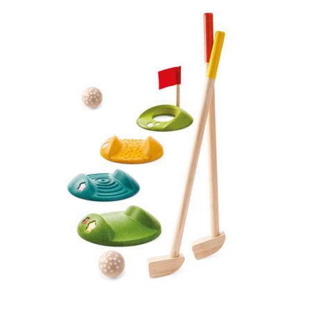 Drewniany mini golf - duży zestaw do gry w mini golfa dla dzieci, Plan Toys