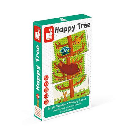 Gra pamięciowa, strategiczna Szczęśliwe drzewo, 4 lata +, JANOD