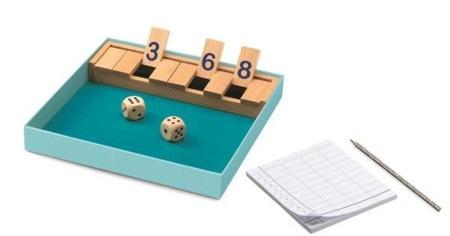 Gra w kości dla dzieci - Gra Shut the box DJECO DJ05217