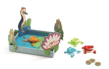 Gra żabki - towarzyska gra zręcznościowa dla dzieci DJECO DJ05214