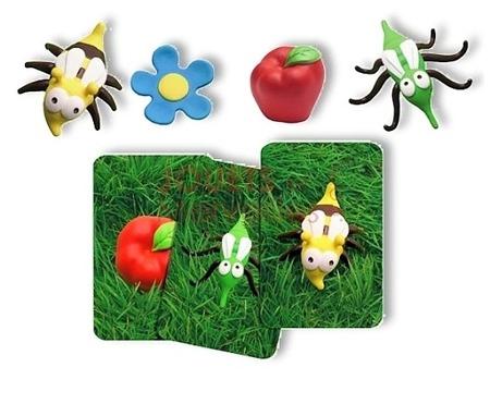 Gra zręcznościowa Mosquito - zabawna gra z owadami dla dzieci 5 lat+, DJECO DJ08469