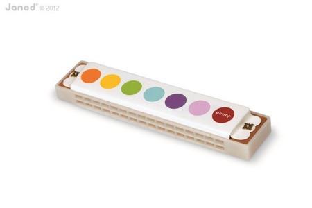 Harmonijka instrument dla dzieci z serii Confetti, Janod