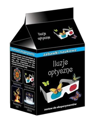Iluzje optyczne - doświadczenia i eksperymenty dla dzieci, 10 lat +, RANOK-CREATIVE