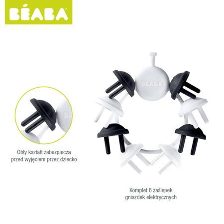 Komplet zaślepek ochronnych do gniazdek elektrycznych, ochrona na gniazdka kontaktowe dla niemowląt, BEABA