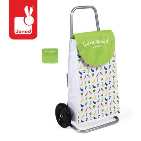 Koszyk wózek na zakupy dla dzieci - zabawa w sklep i odgrywanie ról, JANOD J06575