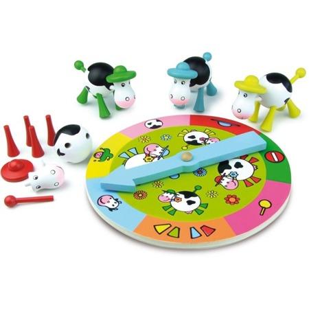 Lotto z krowami - gra dla dzieci 3+, ułóż swoją KROWĘ jako pierwszy!, VILAC