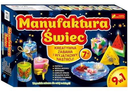 Manufaktura świec - fabryka świec, własne świece dla dzieci DIY, Ranok-Creative