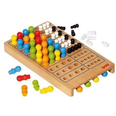 """Mastermind - drewniana gra dla dzieci """"Mistrz logiki"""", GOKI 56708"""
