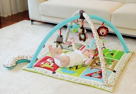 Mata edukacyjna Alfabet - mata dla niemowląt, 17 wariantów zabawy, SKIP HOP