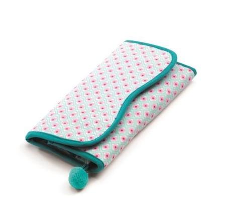 Materiałowy portfel z akcesoriami do zabawy dla dzieci, odgrywania ról, DJECO DJ06625