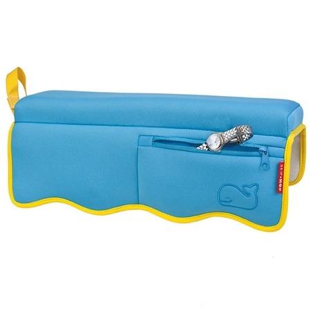 Nakładka na wannę Wieloryb MOBY - poduszka, podłokietnik, siedzisko, SKIP HOP 235513