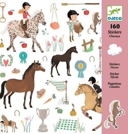 Naklejki Stadnina koni - konie 160 szt., DJECO
