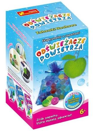 Odświeżacze powietrza - DIY dla dzieci. Pachnący woreczek & zawieszka. Jabłko & cynamon