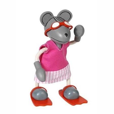 Przebieranka z postacią myszki, modowy zestaw z walizką, Goki 51764
