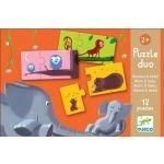 Puzzle edukacyjne Duo - puzzle Mamy i ich dzieci, DJECO