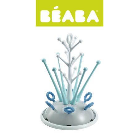 Suszarka do butelek i smoczków - stojący ociekacz na akcesoria niemowlęce blue, Beaba