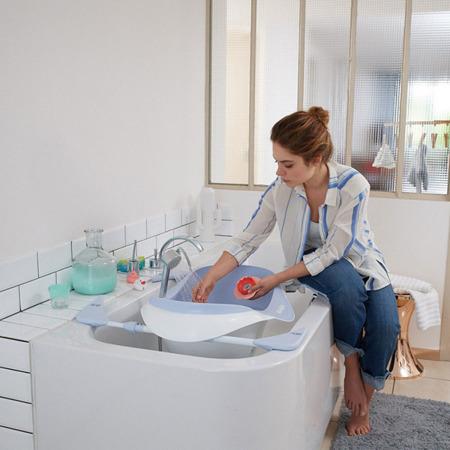 Termometr do kąpieli, do wanienki i pokoju dla niemowląt i dzieci Lotus nude/coral, BEABA
