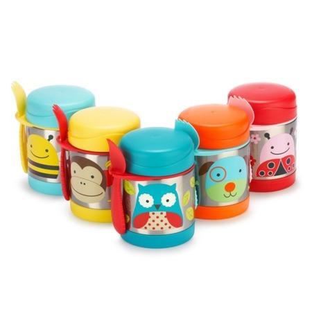 Termos na jedzenie dla dzieci - pojemnik termiczny trzymający ciepło i zimno, Zoo Pszczoła, SKIP HOP