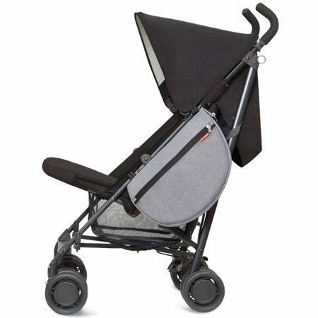 Torba boczna przypinana do wózka dla dzieci Saddle Bag Heather Grey, SKIP HOP 400602