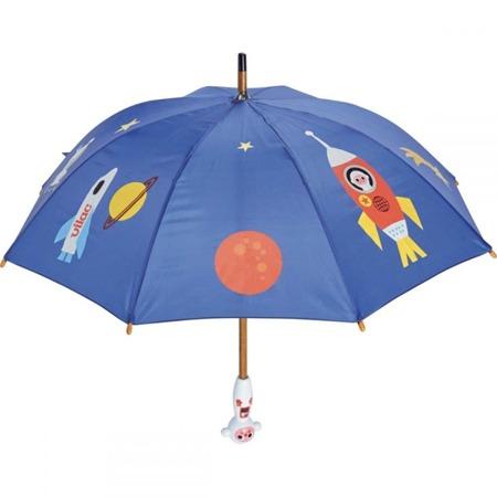 Drewniana parasolka dla dzieci - KOSMONAUTA, RAKIETA KOSMICZNA, 3+, VILAC