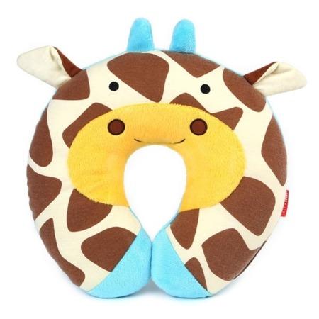 Zagłówek dziecięcy - rogal do samochodu dla dzieci, poduszka Żyrafa, SKIP HOP