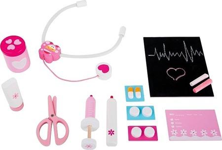 Zestaw akcesoriów Pani doktor - zestaw lekarza dla dzieci, Small Foot