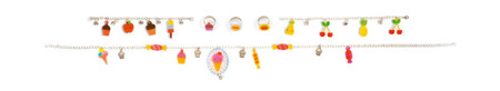 Zestaw artystyczny do tworzenia biżuterii z kurczliwego plastiku Słodkości, JANOD