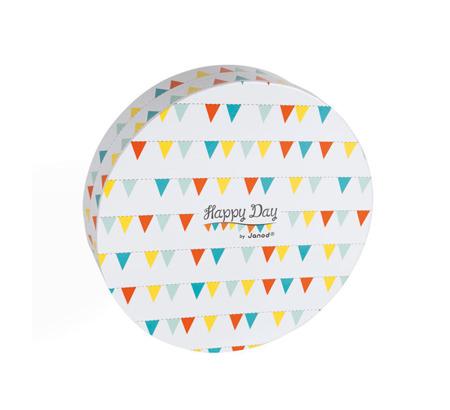 Zestaw do pieczenia ciasteczek 14 elementów Happy Day, JANOD